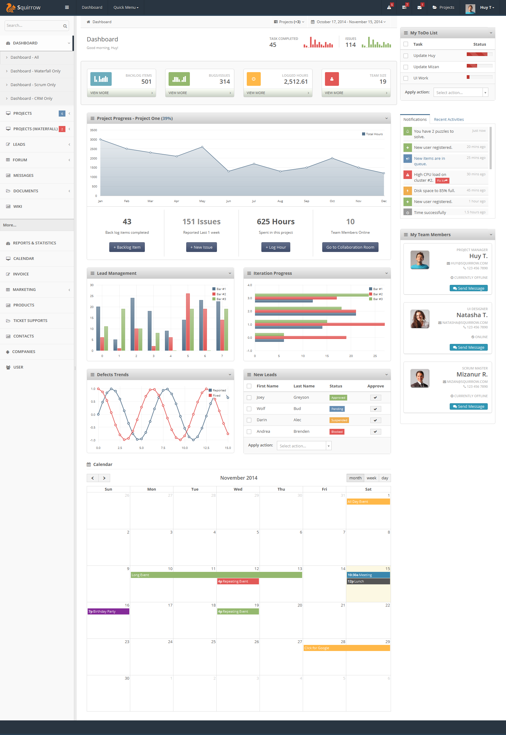 crm project management Buy segments - crm & project management wordpress theme by codevisionthemes on themeforest official theme &amp plugin documentation before purchase please don't forget to check documentation some of new f.